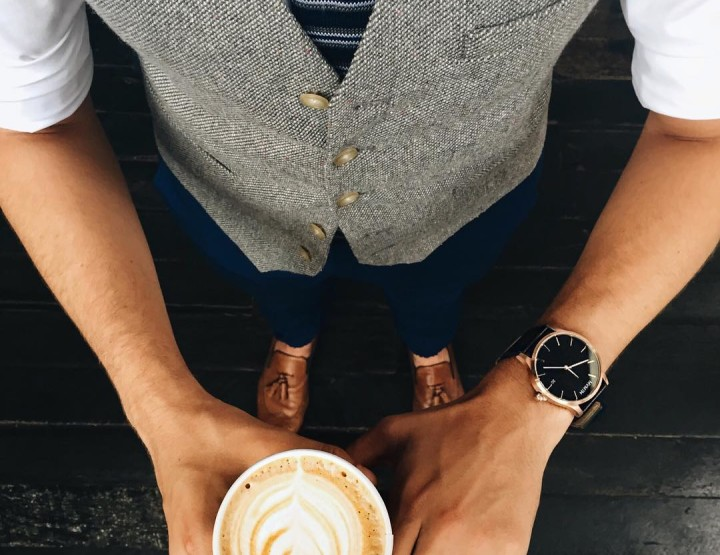 Get caffeinated with the flick of your wrist